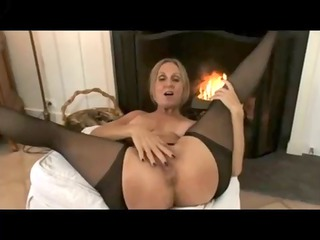 grownup woman nylons &; hard awesome tits