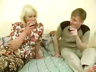 huge naughty milf acquires banged by young