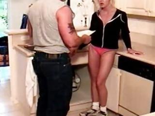 horny mama desi kitchen gangbanging at milfs cum