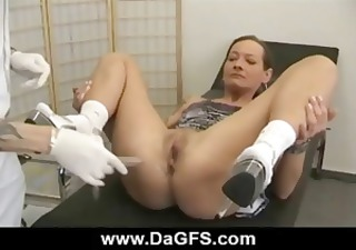 lustful brunette mother i receives examined and