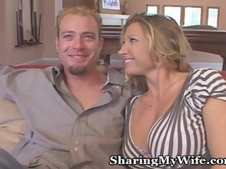 hubby and wife invite amateur over