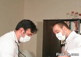 see these two kinky doctors as they