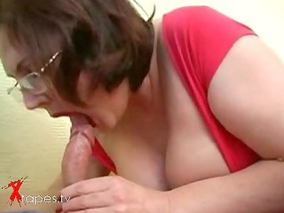 chubby milf drilled by undergraduate