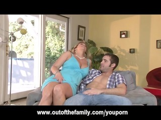 daughter watches her mom own ass pierced