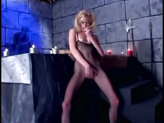 obsess fuck inside fishnet nylons and shiny latex