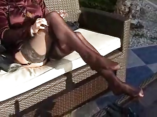 cougar satin al fresco