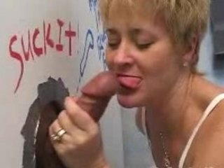gloryhole lady