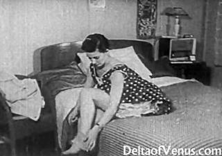 vintage porn 21135s - bald pussy, voyeur fuck