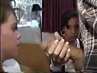 english ladies inside retro movie
